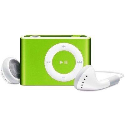"""Žalias """"iPod"""" grotuvas"""