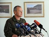 Alfredo Pliadžio nuotr./Jungtinio atabo viraininkas brigados generolas Algis Vaičeliūnas