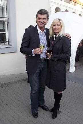 V.Ovadnevo nuotr./Žilvinas Šilgalis su žmona