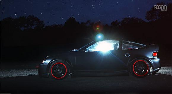 VAZZ nuotr./PER4M MAG: Reaktyvinė Honda CRX taburetė