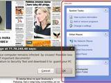 15min.lt skaitytojo nuotr./Virusai buvo platinami per reklaminius skydelius naujienų portaluose.