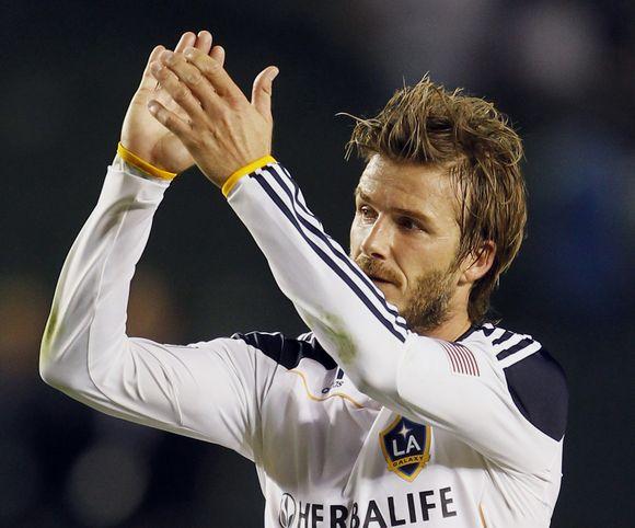 D.Beckhamas žibėjo