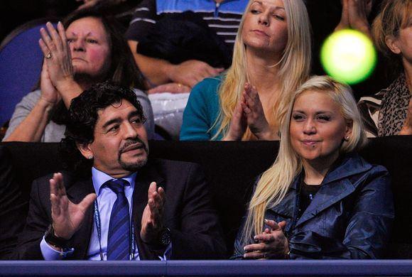 AFP/Scanpix nuotr./Mačą stebėjo Argentinos futbolo legenda D.Maradona