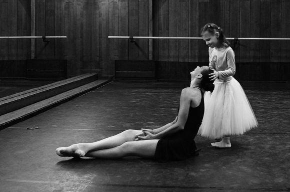 Algimanto Aleksandravičiaus nuotr./Miglė ir balerina Eglė `pokaitė