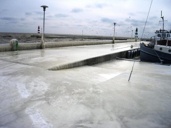 Ledo skulptūros Neringoje