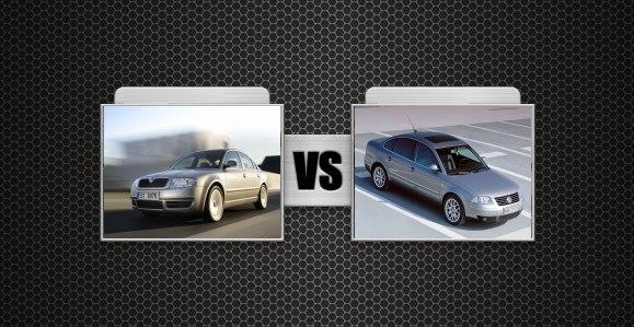 Škoda Superb prieš VW Passat