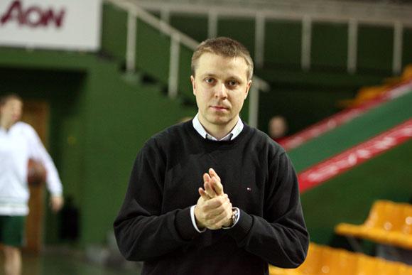 """Kauno """"Žalgirio"""" generalinis direktorius Paulius Motiejūnas"""