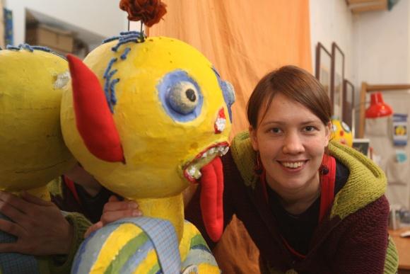 Vilniaus mokytojų namuose veikiančios vaikų ir jaunimo meno galerijos projektų vadovė Sigita Stankevičiūtė
