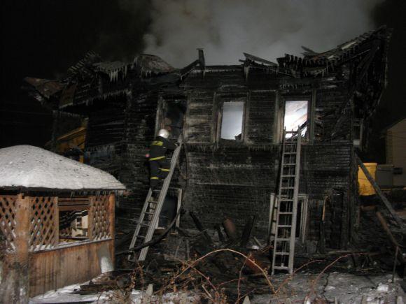 Gaisras Vologdoje nusinešė aštuonių žmonių gyvybes.