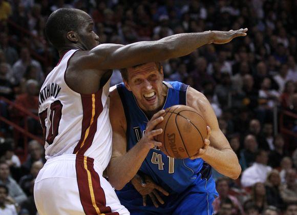 """""""Mavericks"""" nutraukė """"Heat"""" pergalių seriją."""