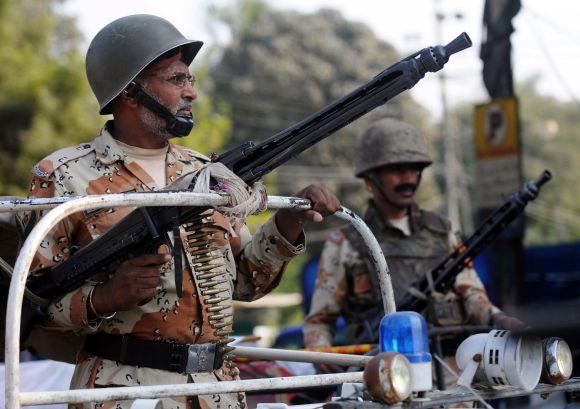 Pakistano karinė policija