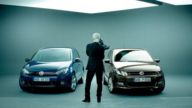 VW hečbekai po Karlo Lagerfeldo prisilietimo