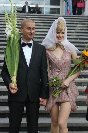 Ž. Baryso nuotr./Aleksandras ir Salomėja Pogrebnojai