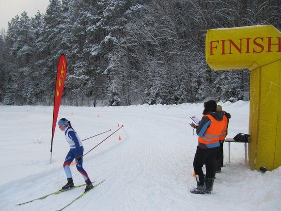 Ignalinoje vyko Vilmanto Gineito atminimo taurės slidinėjimo varžybos.