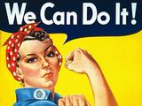 """wikimedia.org nuotr./Garsusis plakatas """"Mes tai galime!"""""""
