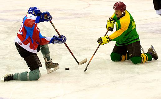 Nacionalinėje ledo ritulio lygoje - Plungės komandos pergalė.