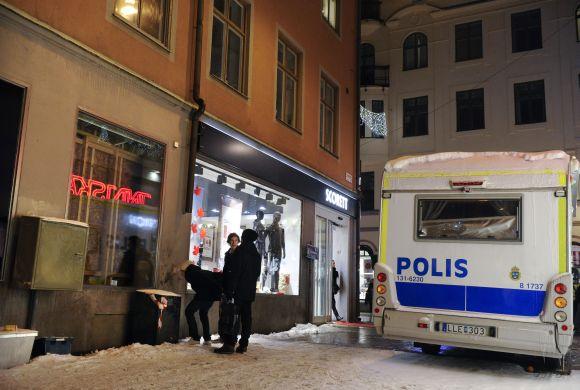 Po savižudžio sprogdinimų Stokholme