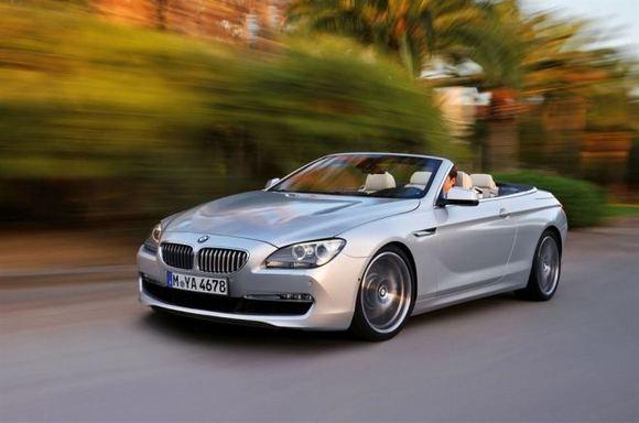 Gamintojo nuotr./BMW 650i kabrioletas