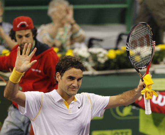 Rogeris Fedederis laimėjo pirmą šių metų turnyrą.