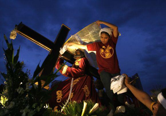 Maldininkų eisena Maniloje