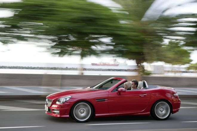 "Trečios kartos ""Mercedes-Benz SLK"""