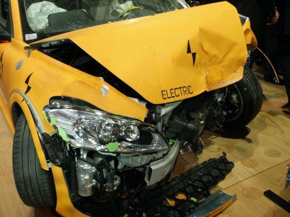 """Volvo C30 Electric"" saugumo testas"