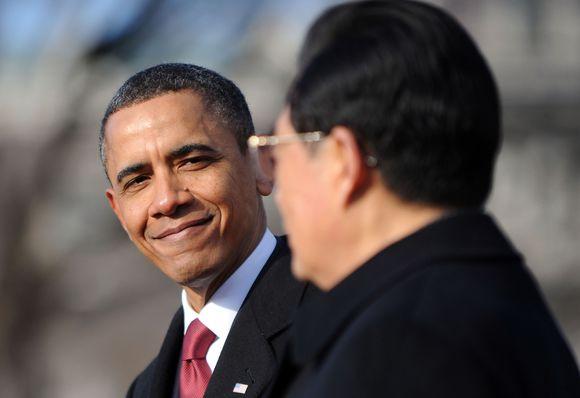 Barackas Obama susitinka su Kinijos prezidentu