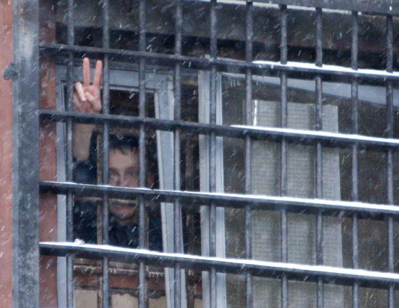 Vienas iš opozicijos aktyvistų Minsko tardymo izoliatoriuje
