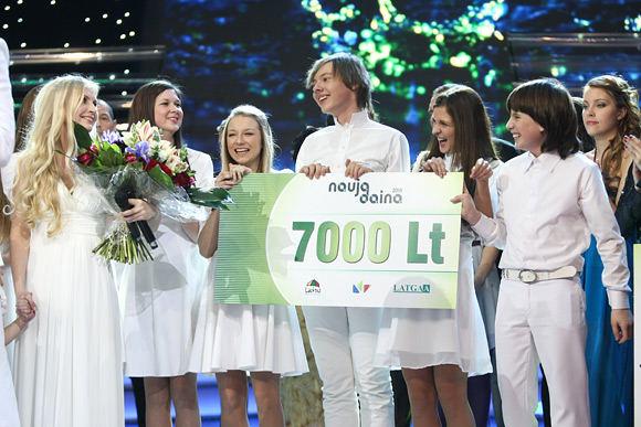 BFL/Mindaugo Vaičiulio nuotr./Konkurse Nauja daina 2010 iarinkta geriausia praėjusių metų daina