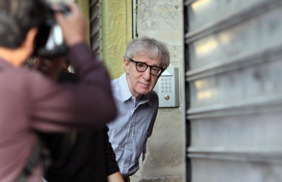 Scanpix nuotr./Woody Allenas filmuoja