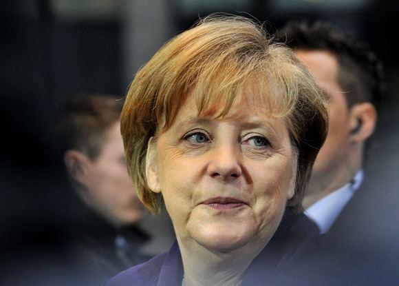 AFP/Scanpix nuotr./Vokietijos kanclerė  Angela Merkel
