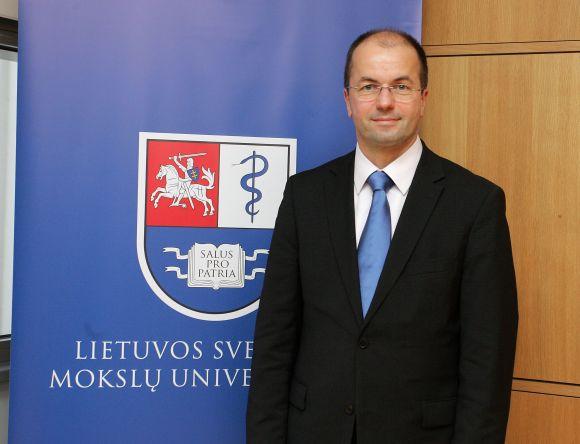 LSMU rektorius prof. Remigijus Žaliūnas