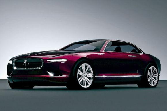 Bertone nuotr. /Bertone Jaguar B99 koncepcinis modelis