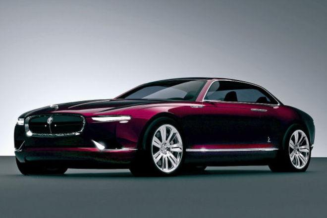 """""""Bertone Jaguar B99"""" koncepcinis modelis"""