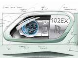 Gamintojo nuotr./Rolls-Royce Phantom 102EX