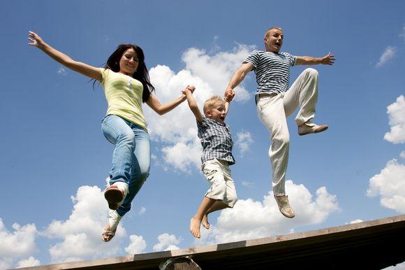 Laiminga šeima
