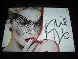 Asmeninio archyvo nuotr./Ia Kylie Minogue gerbėjos Daivos kolekcijos. Kylie autografas