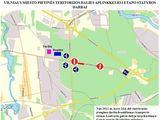 Vilniaus miesto savivaldybės nuotr./Transporto reorganizavimo schema Kirtimų g. Vilniuje