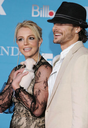 Scanpix nuotr./Britney Spears ir Kevinas Federline'as