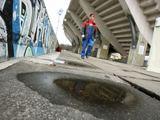 Eriko Ovčarenko/15min.lt nuotr./S.Dariaus ir S.Girėno stadionui, kur šiuo metu vyksta futbolo varžybos, būtina rekonstrukcija