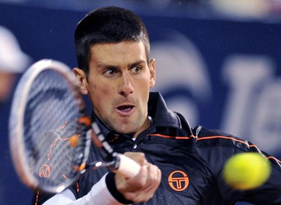 Novakas Džokovičius šiame sezone dar nė karto nesuklupo.