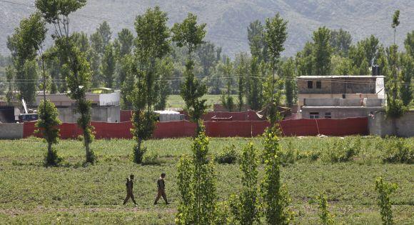 Kompleksas Abotabade, kuriame slapstėsi Osama bin Ladenas