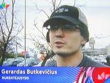 Kadras iš LNK žinių/Sudegusio automobilio savininkas