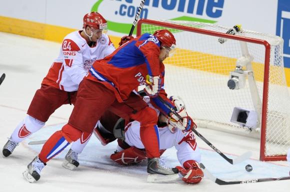 Rusijos ledo ritulininkų pergalė.
