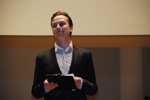 Koncerto idėjos autorius ir iniciatorius, pianistas Darius Mažintas