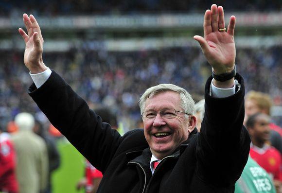 """Manchester United"" treneris Alexas Fergusonas"