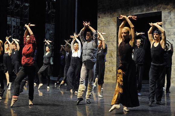 M.Aleksos nuotr./Baleto Barbora Radvilaitė repeticija
