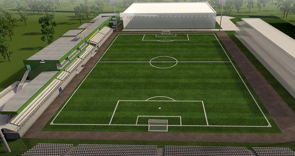 LFF nuotr./LFF stadiono Vilniuje vizija  antras etapas.