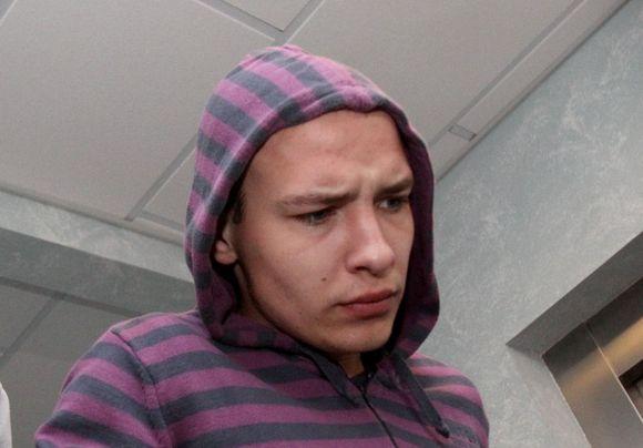 Įtariamasis Ramūnas Balkūnas (gim. 1990 m.) teisme