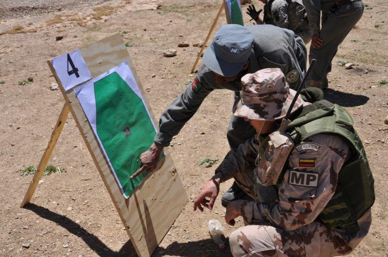 POMSG  organizuotos šaudymo pratybos ANP pareigūnams